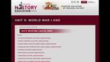 Reading Like a Historian: U.S. Entry into WWI