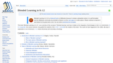Blended Learning in K-12