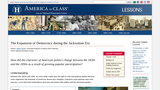 The Expansion of Democracy During the Jacksonian Era
