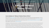 Medieval Women Writers