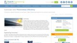 Photovoltaic Efficiency