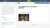 The Progressive Era, an introduction unit for ELs