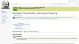 Module 8: Medium- and Long-term Financing
