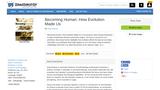 Becoming Human: How Evolution Made Us