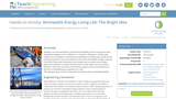 Renewable Energy Living Lab: The Bright Idea