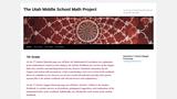Utah Middle School Math Project - 7th Grade