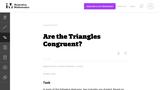 Are the Triangles Congruent?
