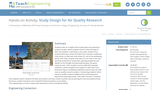 Study Design for Air Quality Research