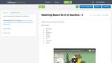 SketchUp Basics for K-12 teachers - 4