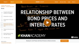 Finance & Economics: Relationship Between Bond Prices and Interest Rates