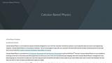 Calculus-Based Physics