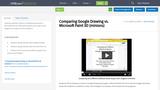 Comparing Google Drawing vs. Microsoft Paint 3D (minions)