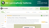 Building Video Literacy: Storyboarding